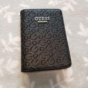 Guess passport holder